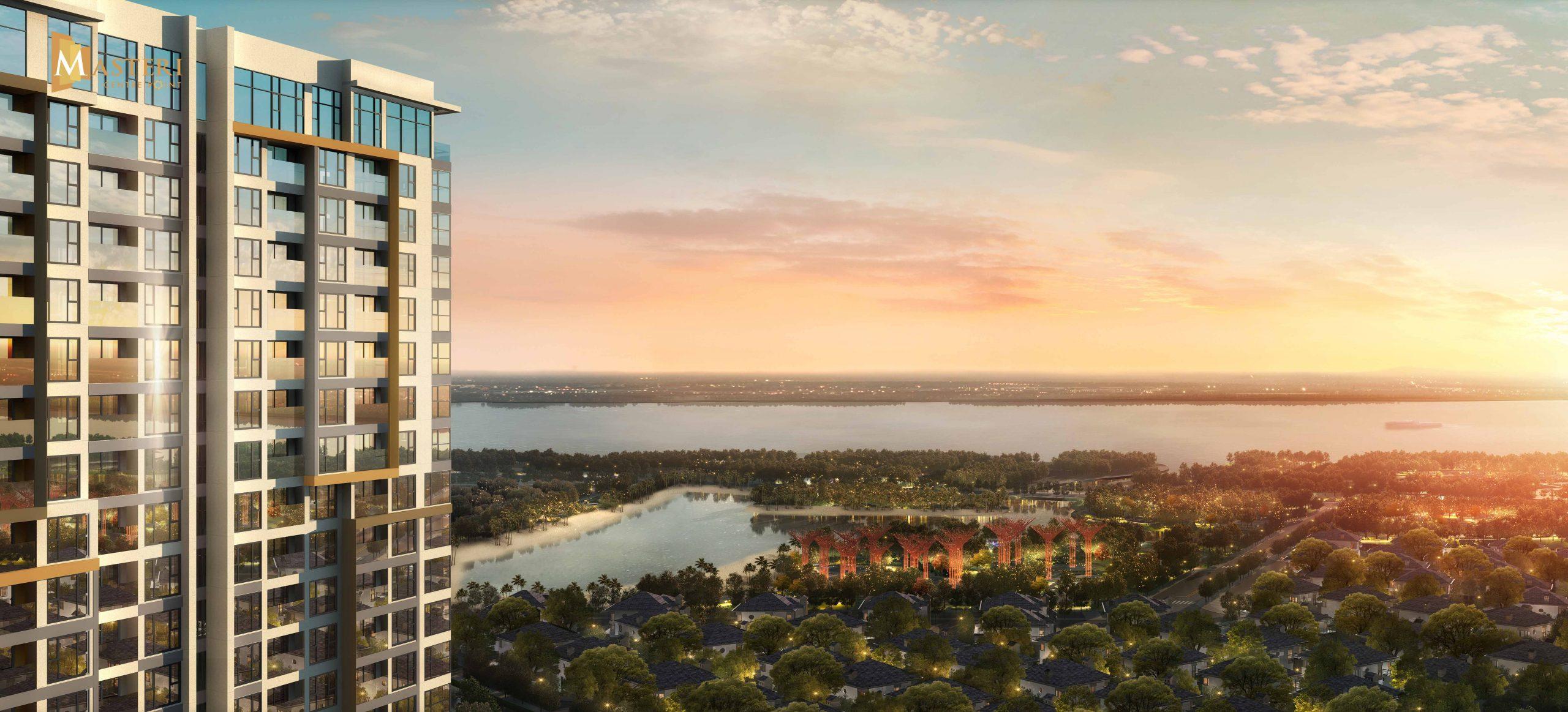 tầm view dự án Masteri Centre Point quận 9